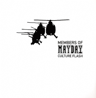 "Members Of Mayday ‎- Culture Flash (12"") (Promo) (EX-NM/NM)"